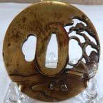 Antique Japanese Bronze Tsuba (HRA photo)