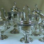 Antique American Silver Coffee & Tea (HRA photo)