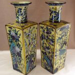 Chinese Cloisonne Vases (HRA photo)