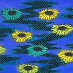 Black Eyed Susans (ink, dye)