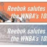 WNBA Reebok Banners